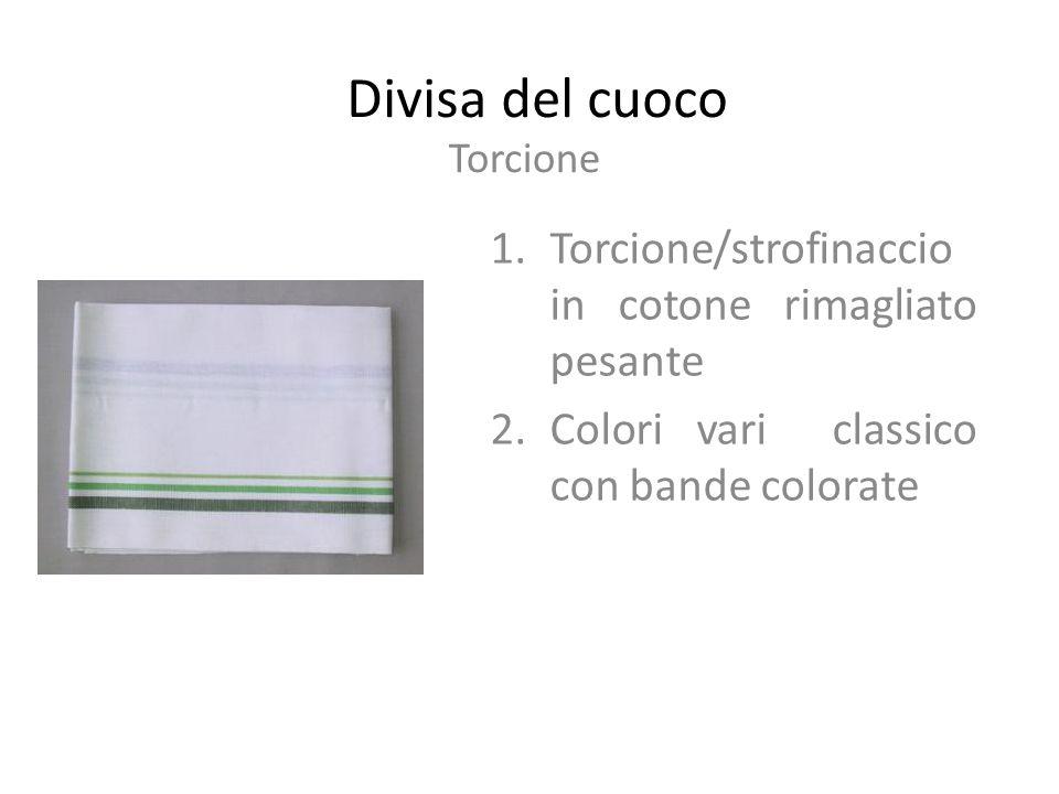 Divisa del cuoco Torcione/strofinaccio in cotone rimagliato pesante