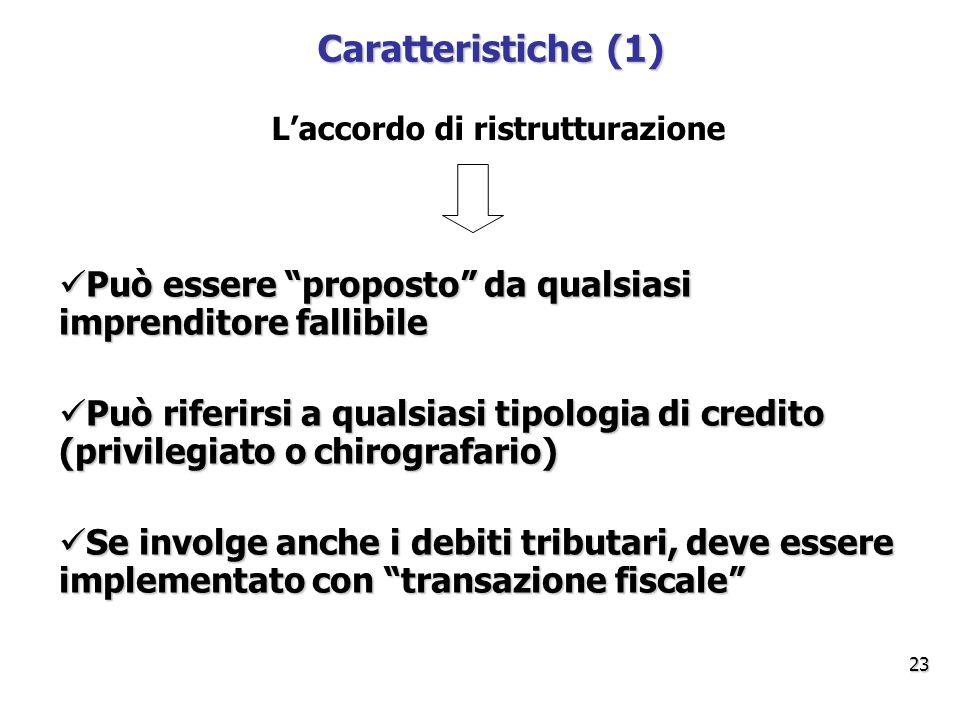 L'accordo di ristrutturazione