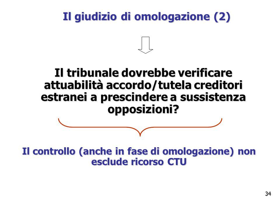Il giudizio di omologazione (2)