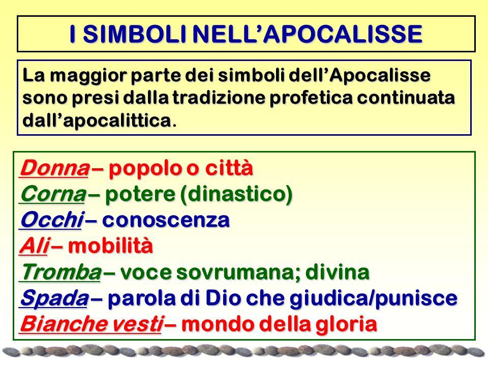 I SIMBOLI NELL'APOCALISSE