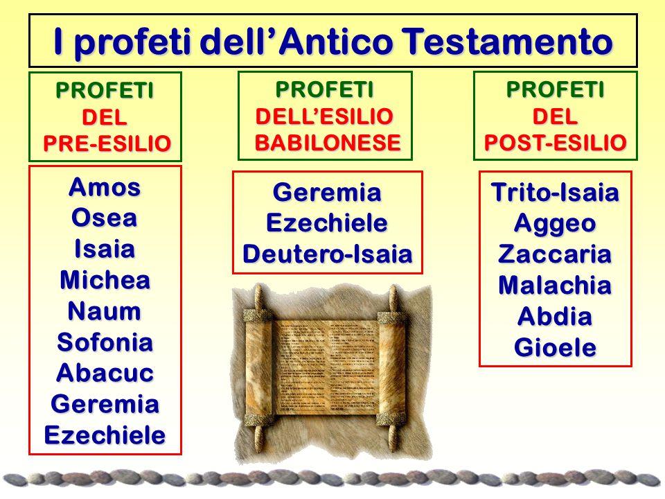 I profeti dell'Antico Testamento