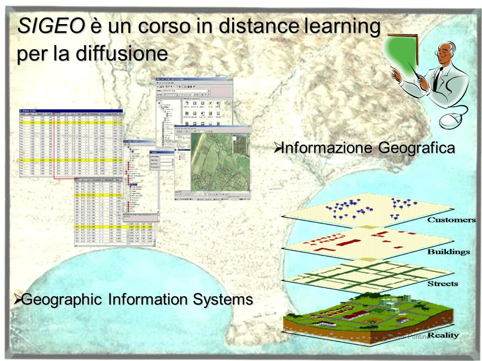 SIGEO è un corso in distance learning per la diffusione
