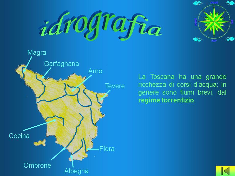 idrografia Magra Garfagnana Arno