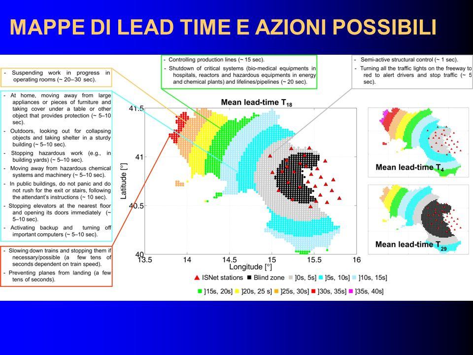 MAPPE DI LEAD TIME E AZIONI POSSIBILI