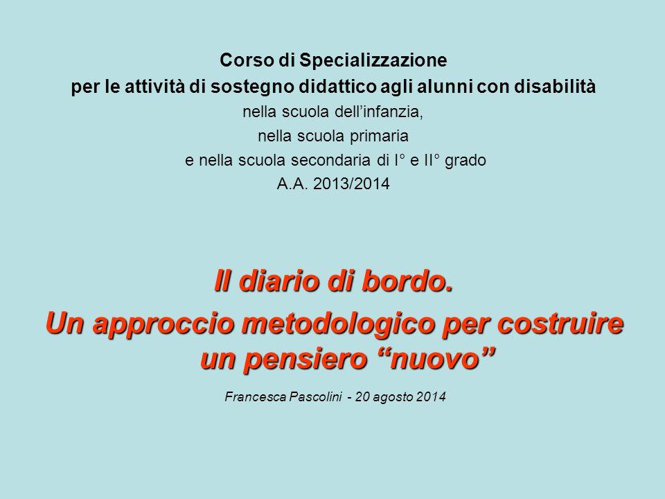 Corso di Specializzazione