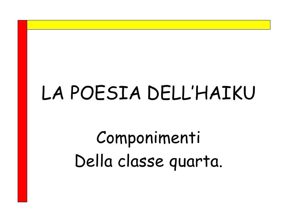 Componimenti Della classe quarta.