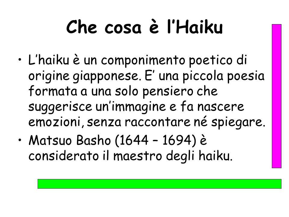 Che cosa è l'Haiku