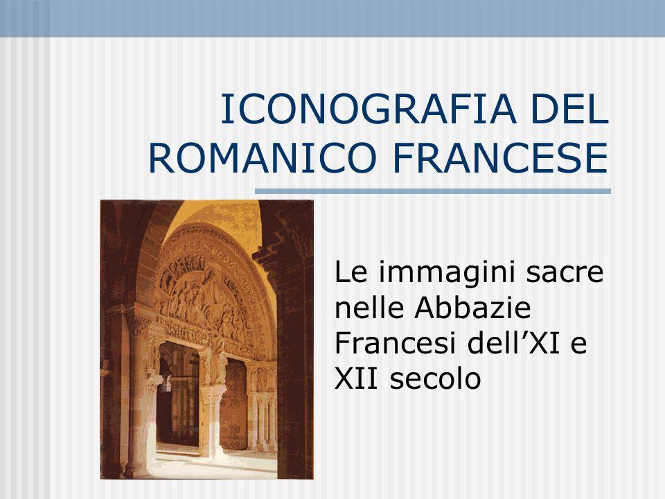 ICONOGRAFIA DEL ROMANICO FRANCESE