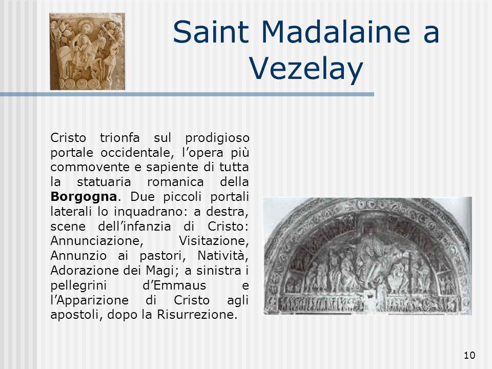 Saint Madalaine a Vezelay