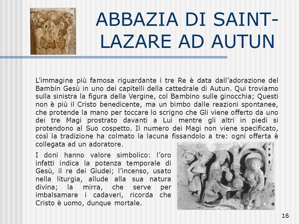 ABBAZIA DI SAINT-LAZARE AD AUTUN