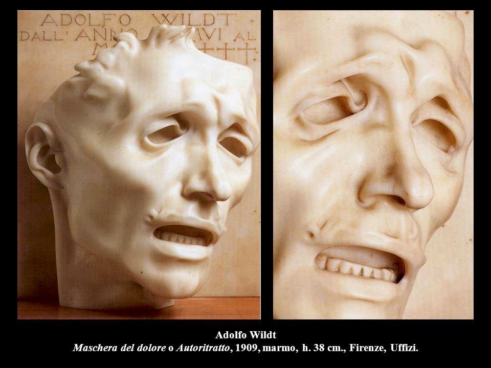 Adolfo Wildt Maschera del dolore o Autoritratto, 1909, marmo, h. 38 cm