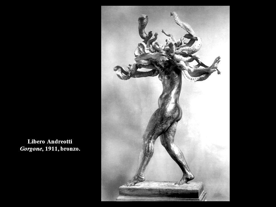 Libero Andreotti Gorgone, 1911, bronzo.
