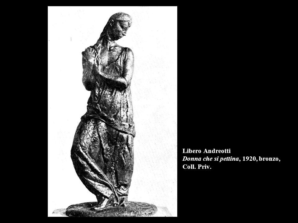 Libero Andreotti Donna che si pettina, 1920, bronzo, Coll. Priv.
