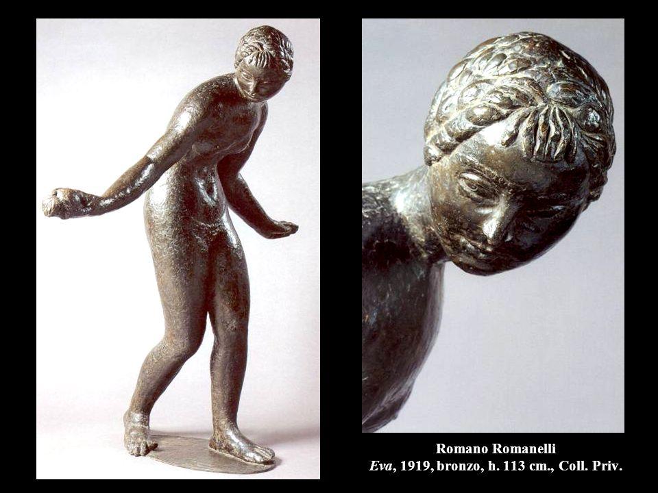 Romano Romanelli Eva, 1919, bronzo, h. 113 cm., Coll. Priv.