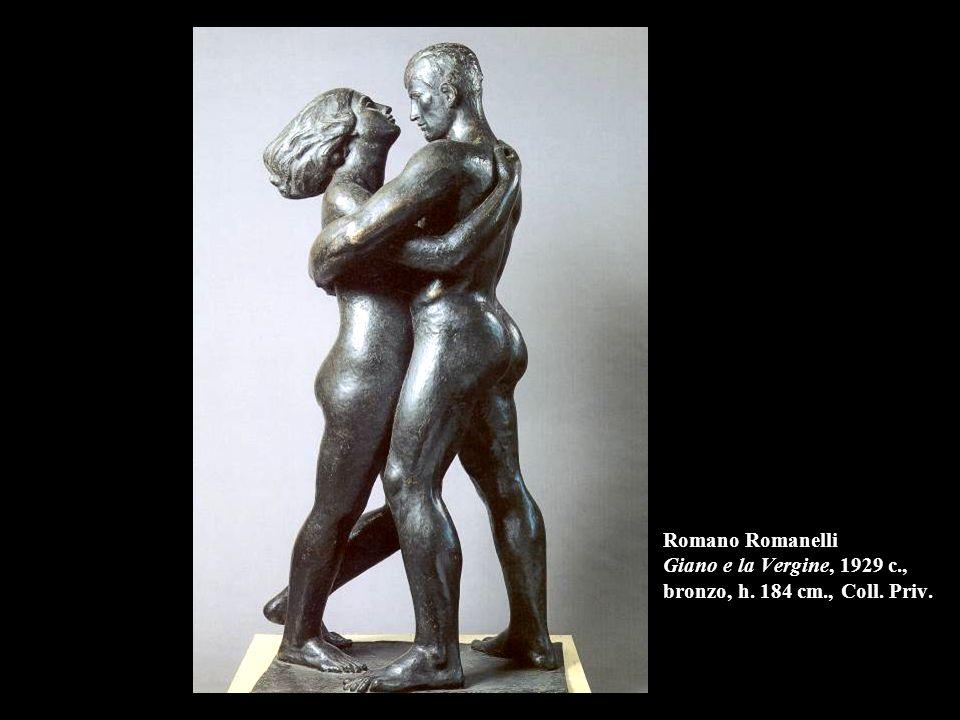 Romano Romanelli Giano e la Vergine, 1929 c. , bronzo, h. 184 cm