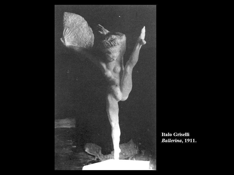 Italo Griselli Ballerina, 1911.