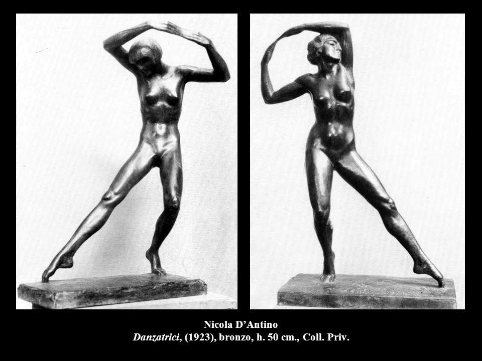 Nicola D'Antino Danzatrici, (1923), bronzo, h. 50 cm., Coll. Priv.