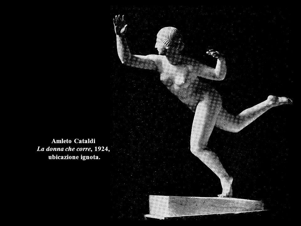 Amleto Cataldi La donna che corre, 1924, ubicazione ignota.