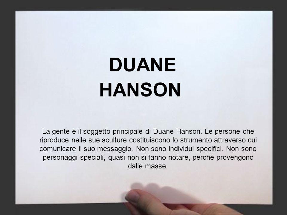 DUANE HANSON.