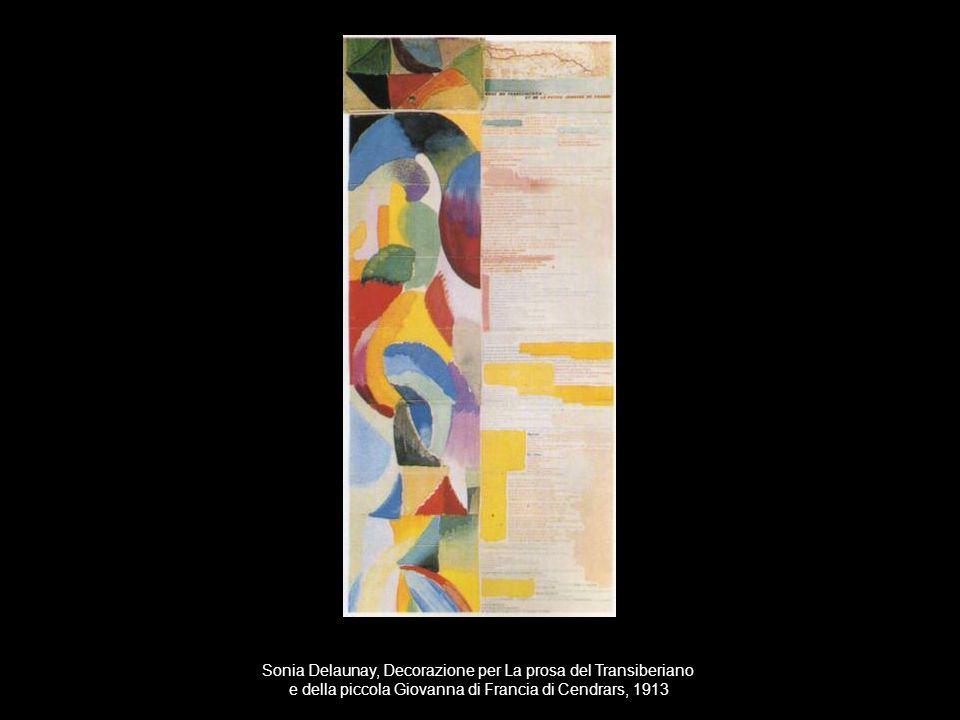 Sonia Delaunay, Decorazione per La prosa del Transiberiano