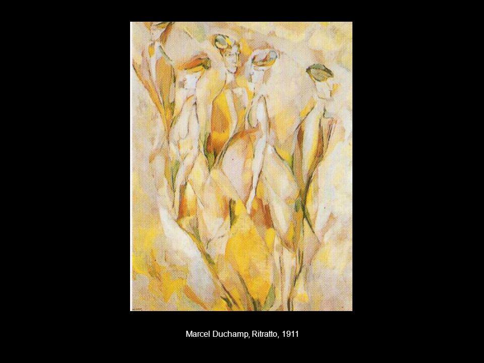Marcel Duchamp, Ritratto, 1911