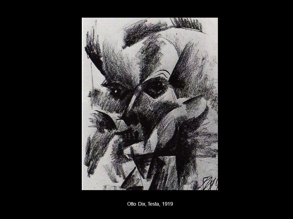 Otto Dix, Testa, 1919