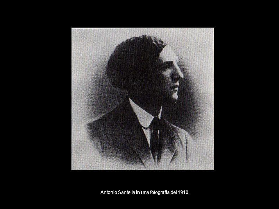 Antonio Santelia in una fotografia del 1910.