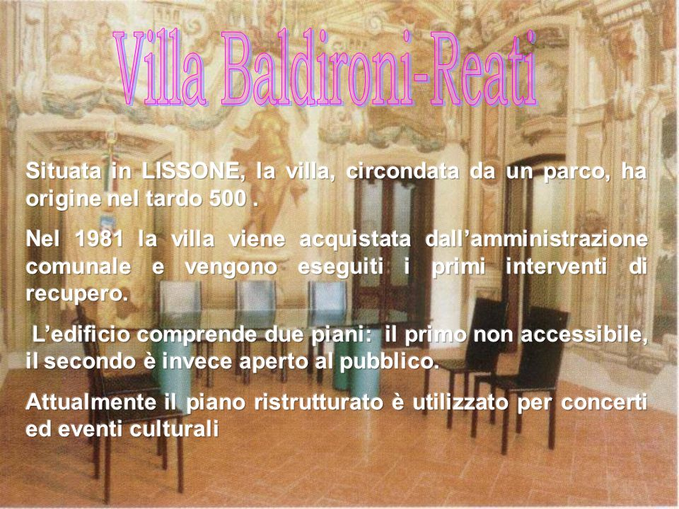 Villa Baldironi-Reati