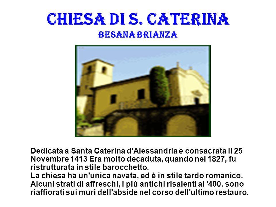 CHIESA DI S. CATERINA BESANA BRIANZA