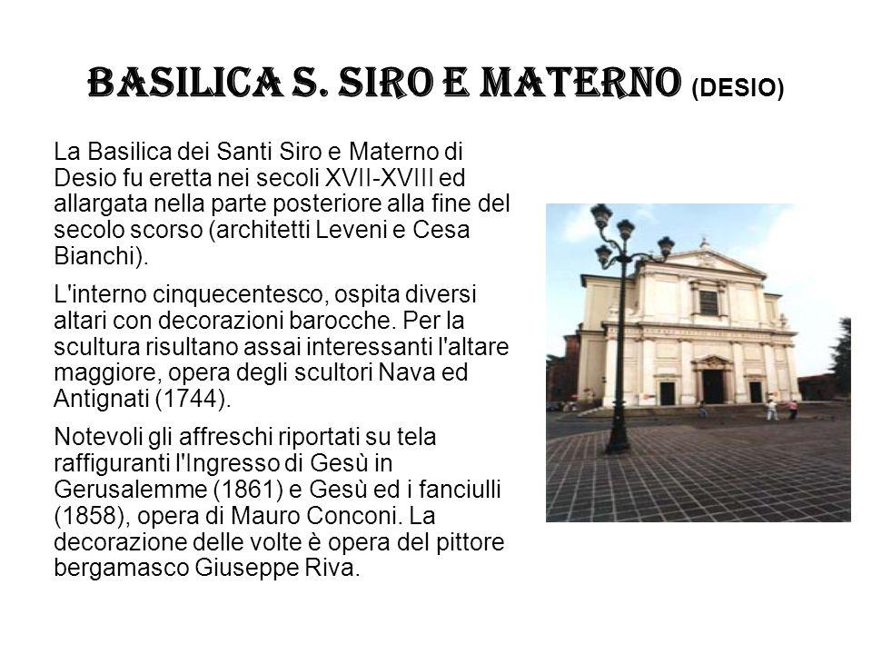 BASILICA S. SIRO E MATERNO (DESIO)