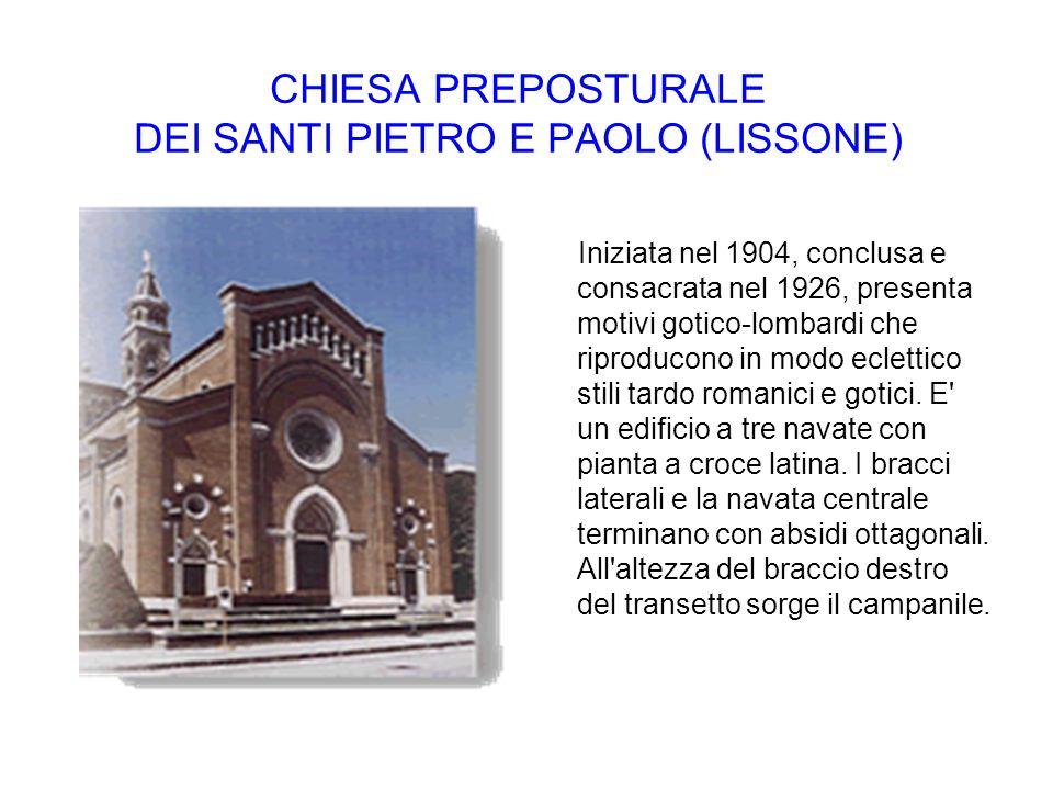 CHIESA PREPOSTURALE DEI SANTI PIETRO E PAOLO (LISSONE)