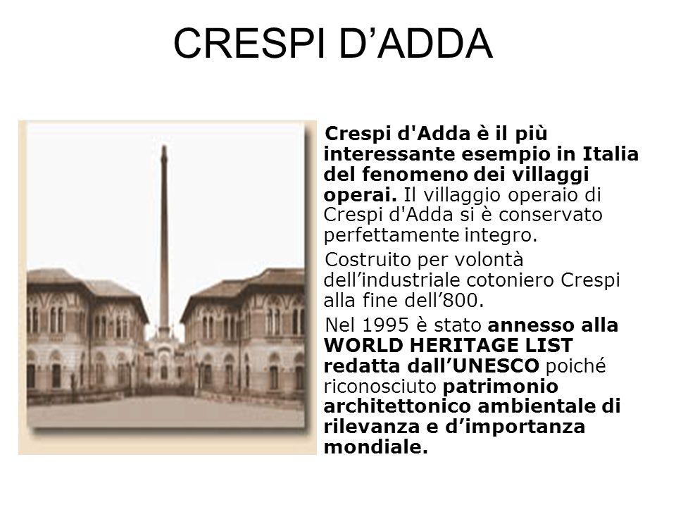 CRESPI D'ADDA