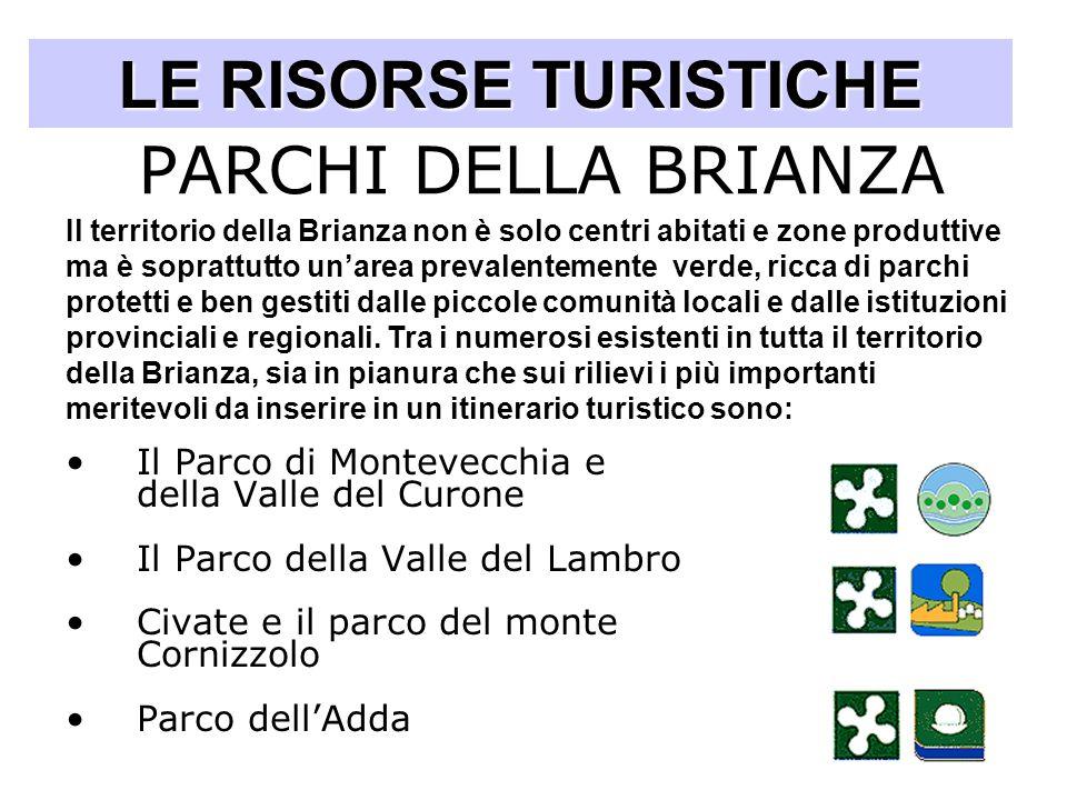 LE RISORSE TURISTICHE PARCHI DELLA BRIANZA