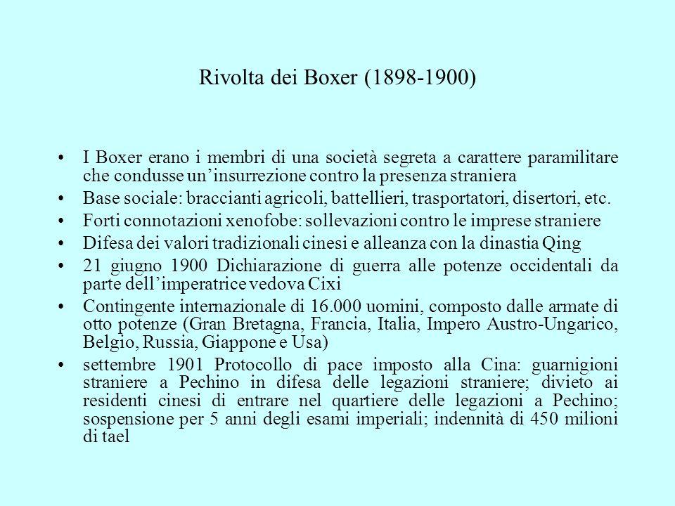 Rivolta dei Boxer (1898-1900)