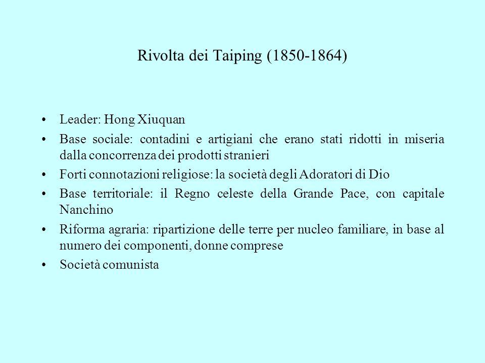 Rivolta dei Taiping (1850-1864)