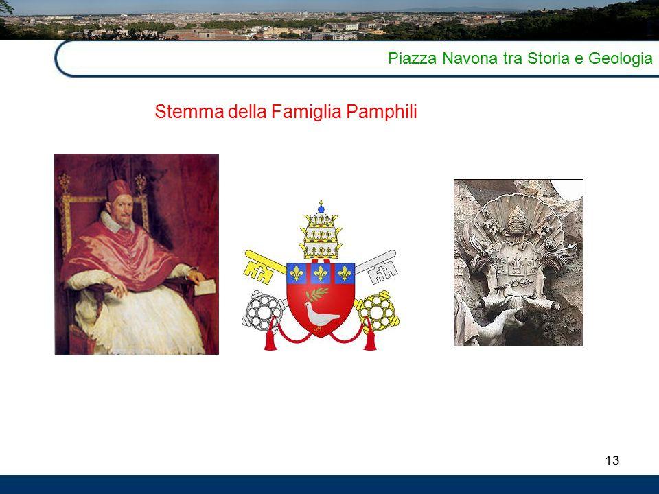 Stemma della Famiglia Pamphili