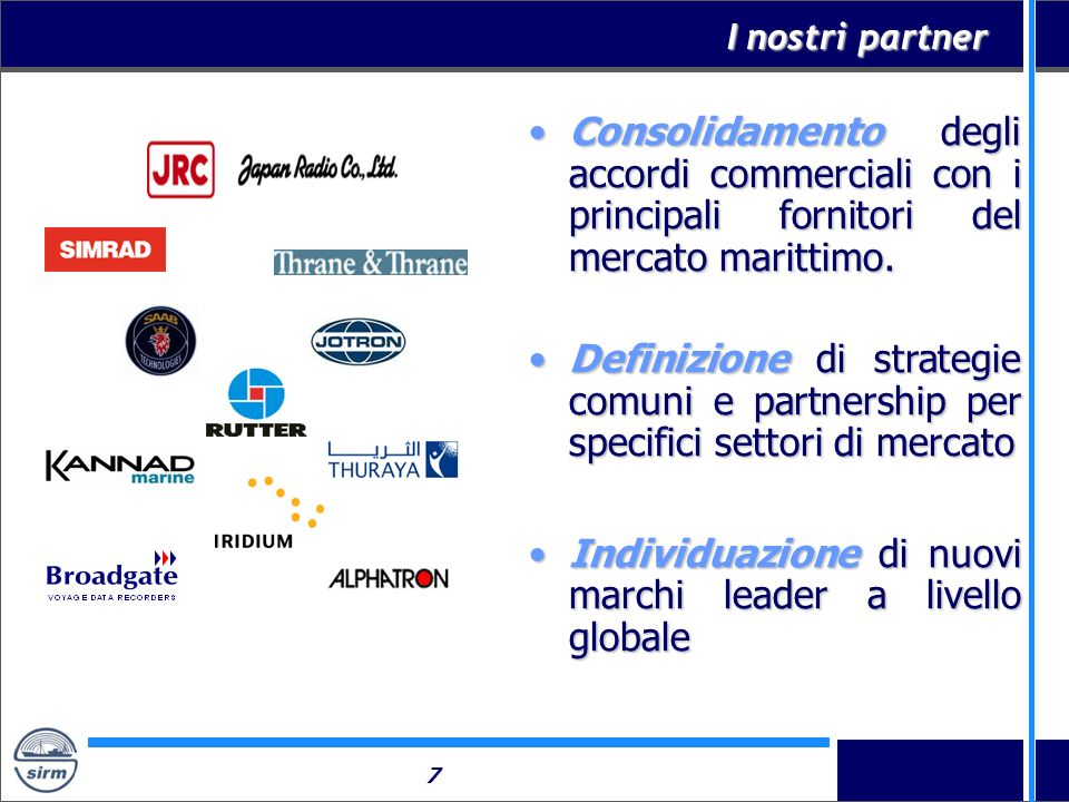 Individuazione di nuovi marchi leader a livello globale