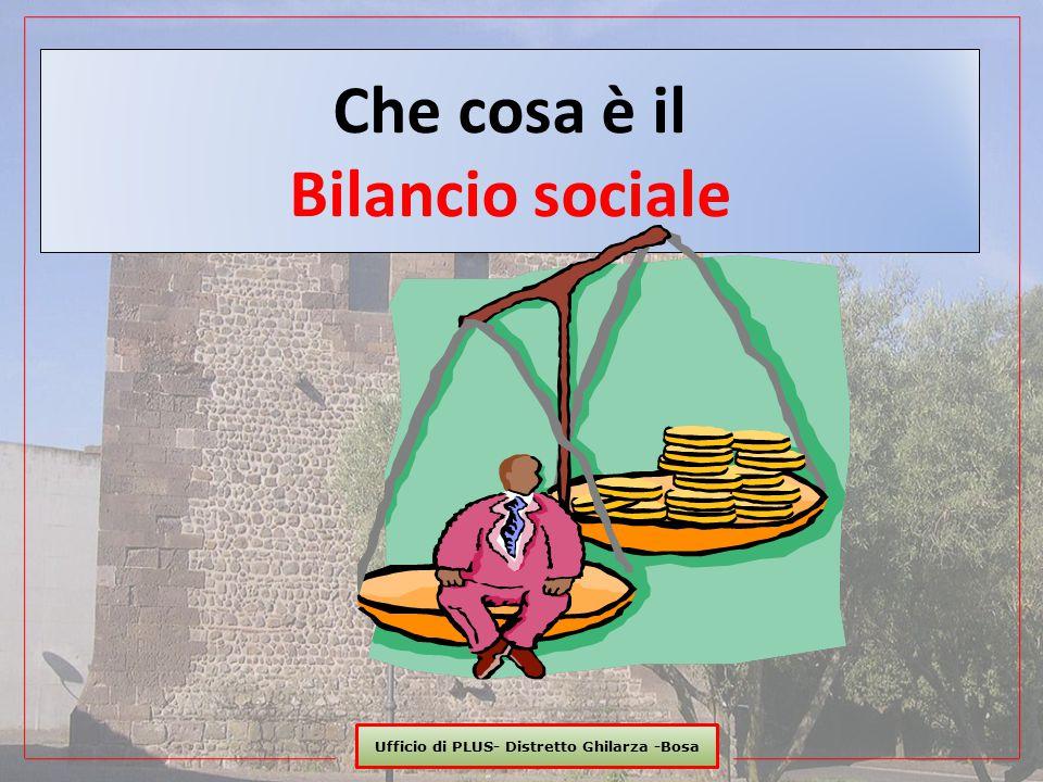 Che cosa è il Bilancio sociale