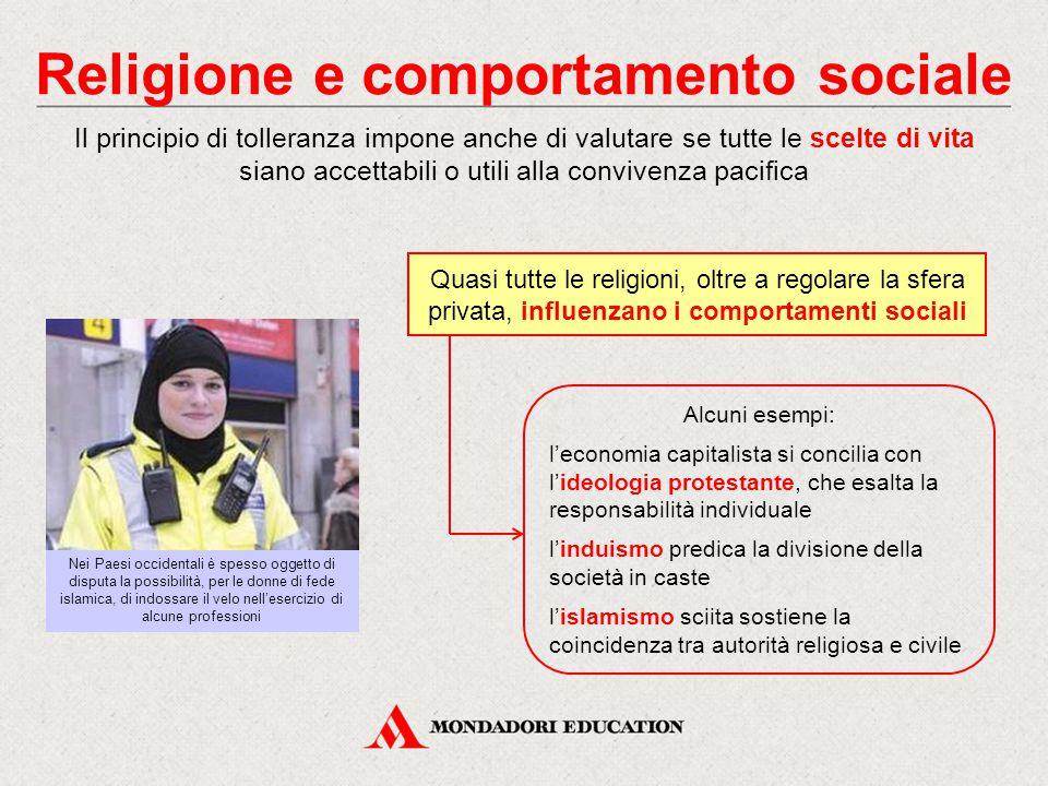 Religione e comportamento sociale