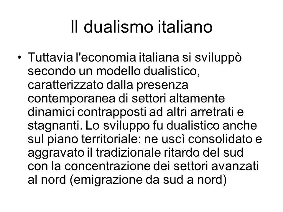 Il dualismo italiano