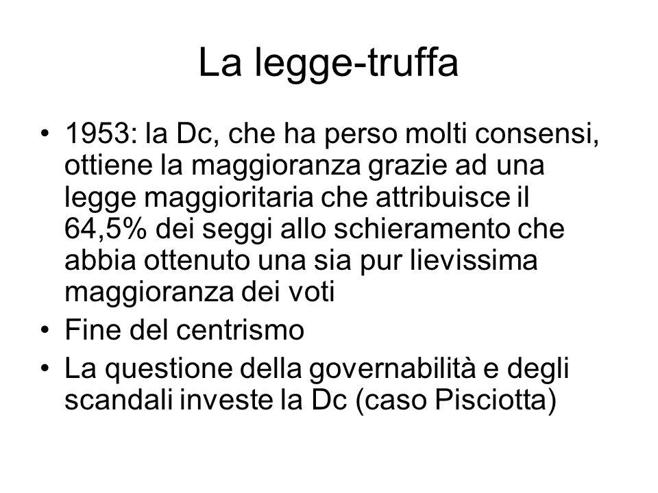 La legge-truffa