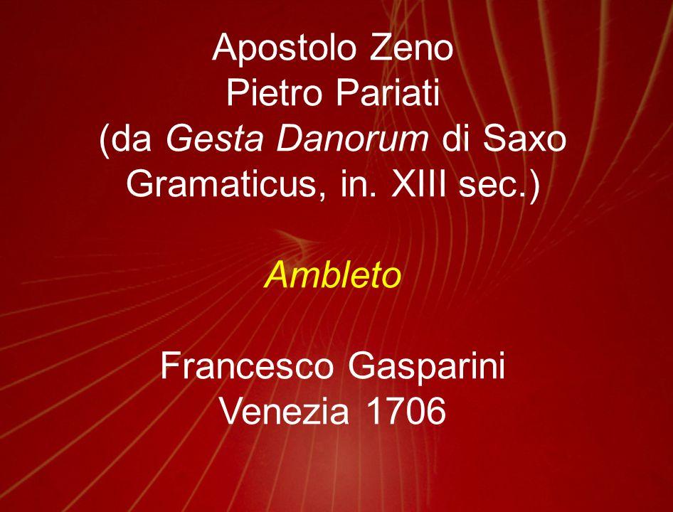 (da Gesta Danorum di Saxo Gramaticus, in. XIII sec.)