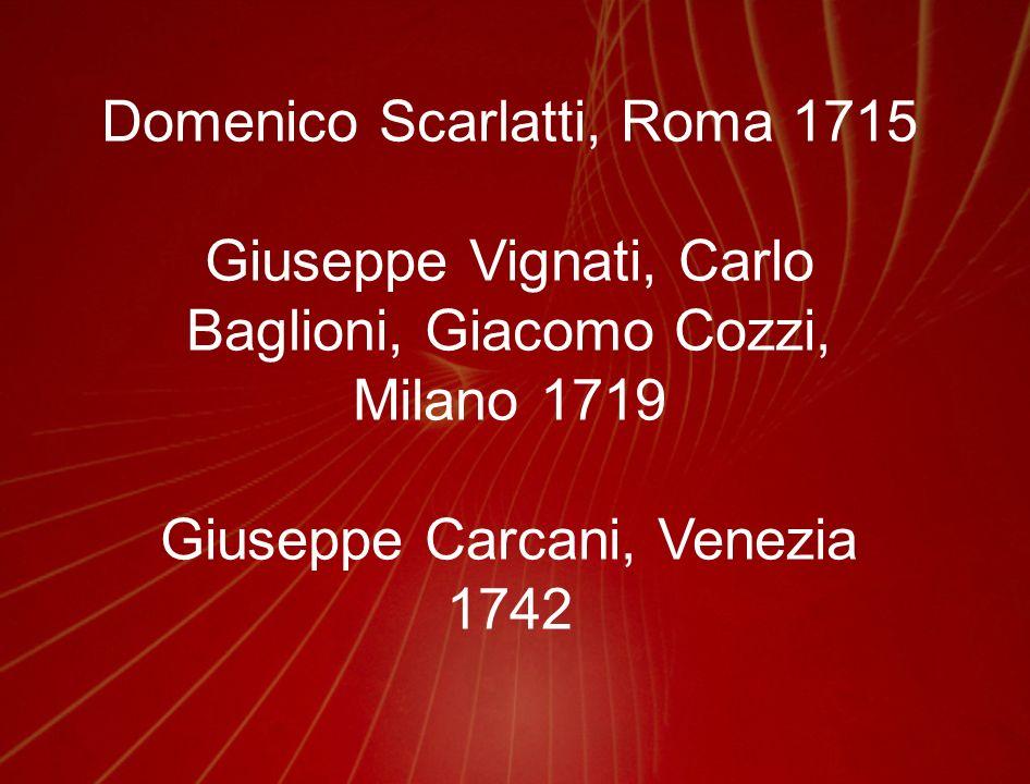 Domenico Scarlatti, Roma 1715