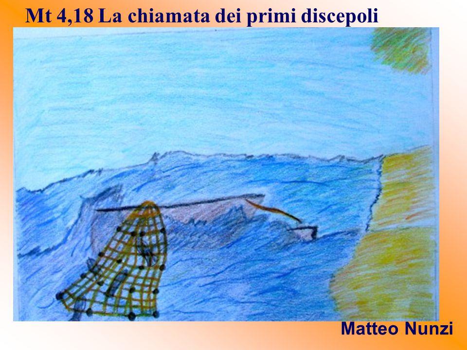 Mt 4,18 La chiamata dei primi discepoli