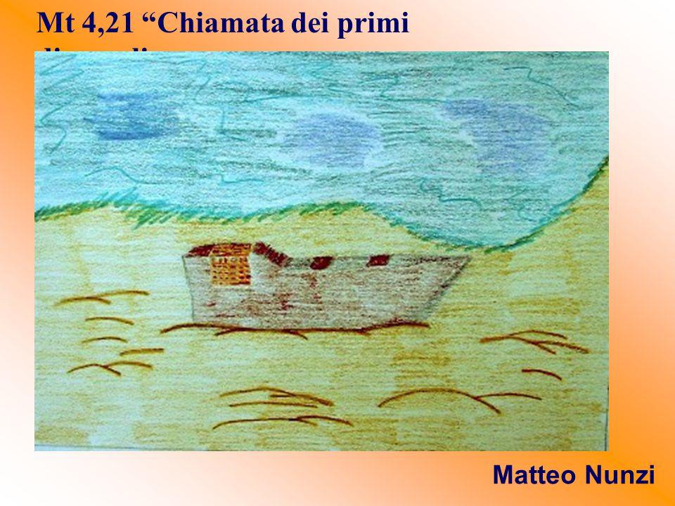 Mt 4,21 Chiamata dei primi discepoli