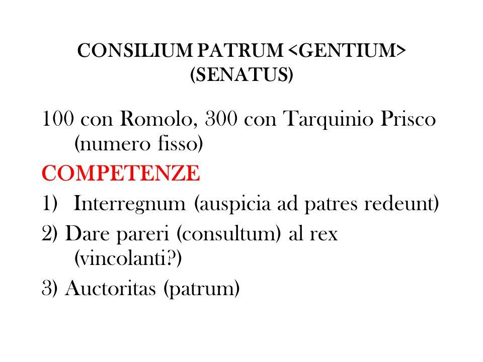 CONSILIUM PATRUM <GENTIUM> (SENATUS)