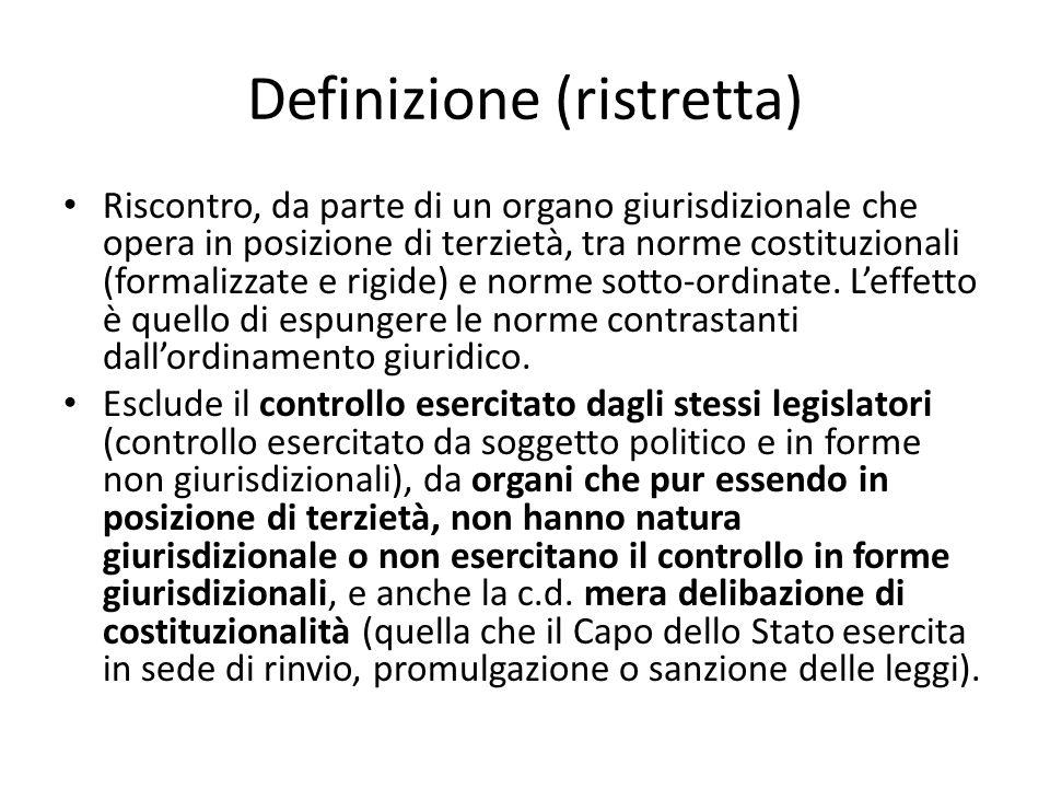 Definizione (ristretta)