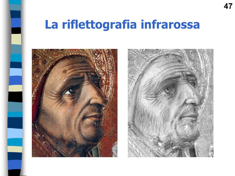 La riflettografia infrarossa