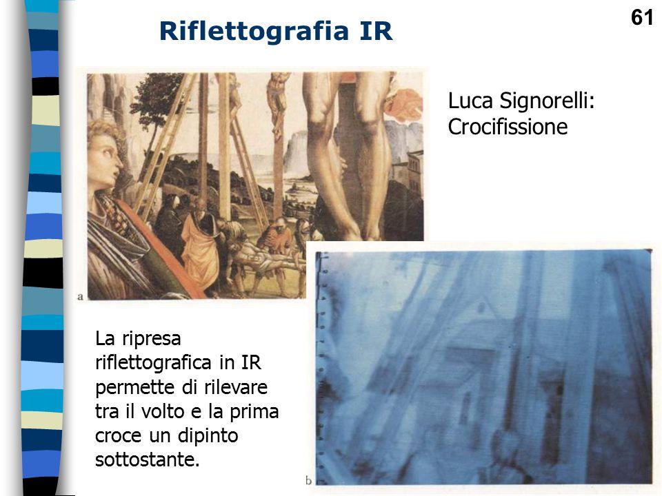 Riflettografia IR Luca Signorelli: Crocifissione