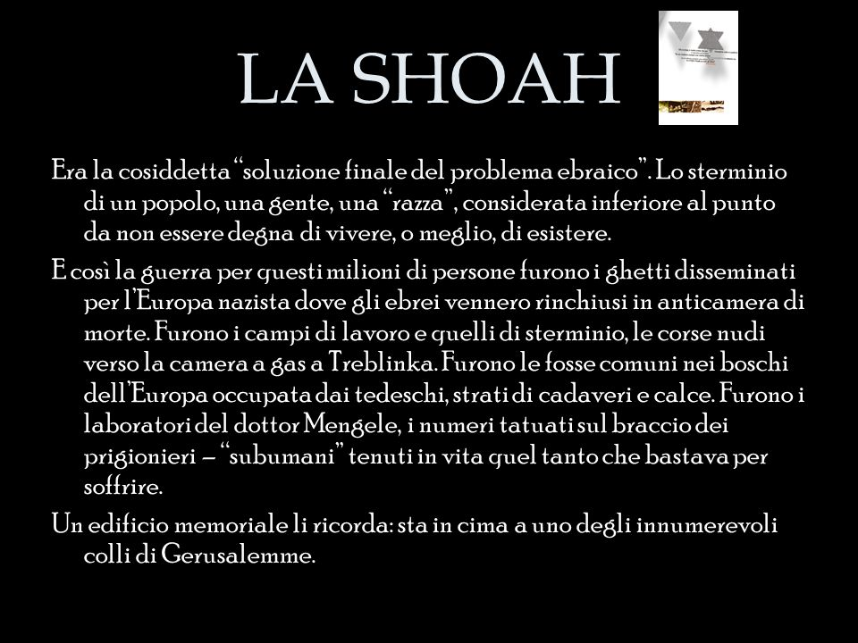 LA SHOAH